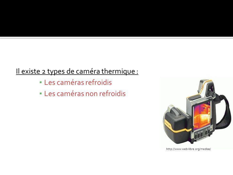 Il existe 2 types de caméra thermique : Les caméras refroidis