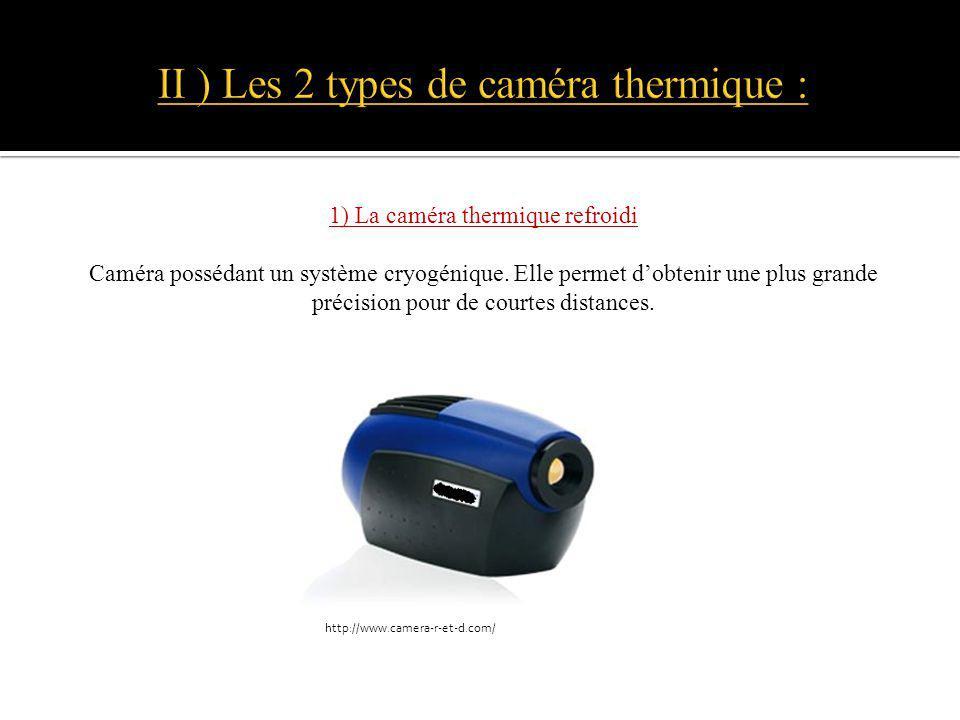 II ) Les 2 types de caméra thermique :