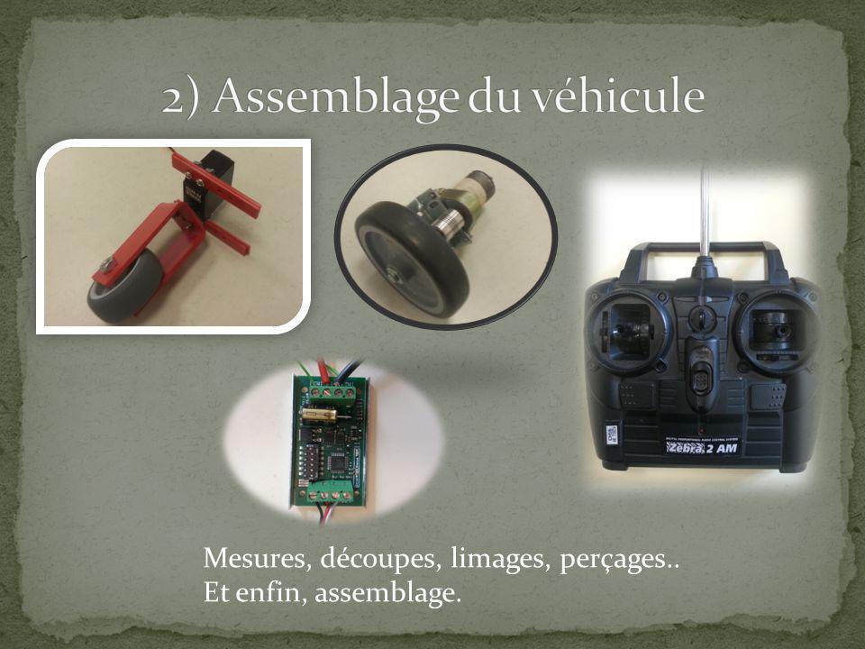 2) Assemblage du véhicule