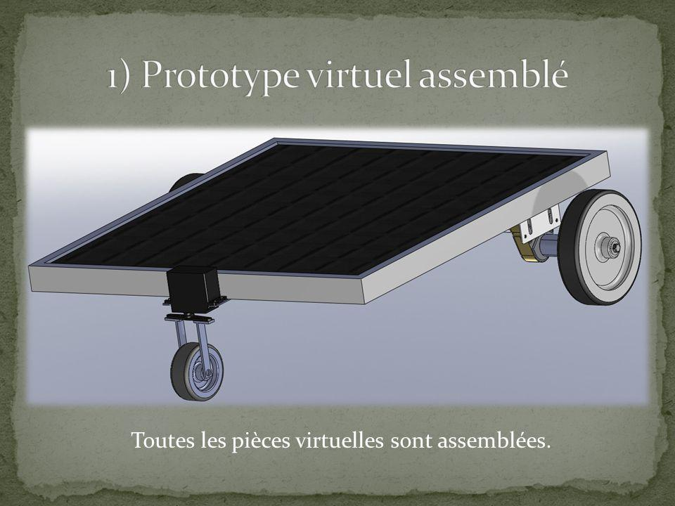 1) Prototype virtuel assemblé