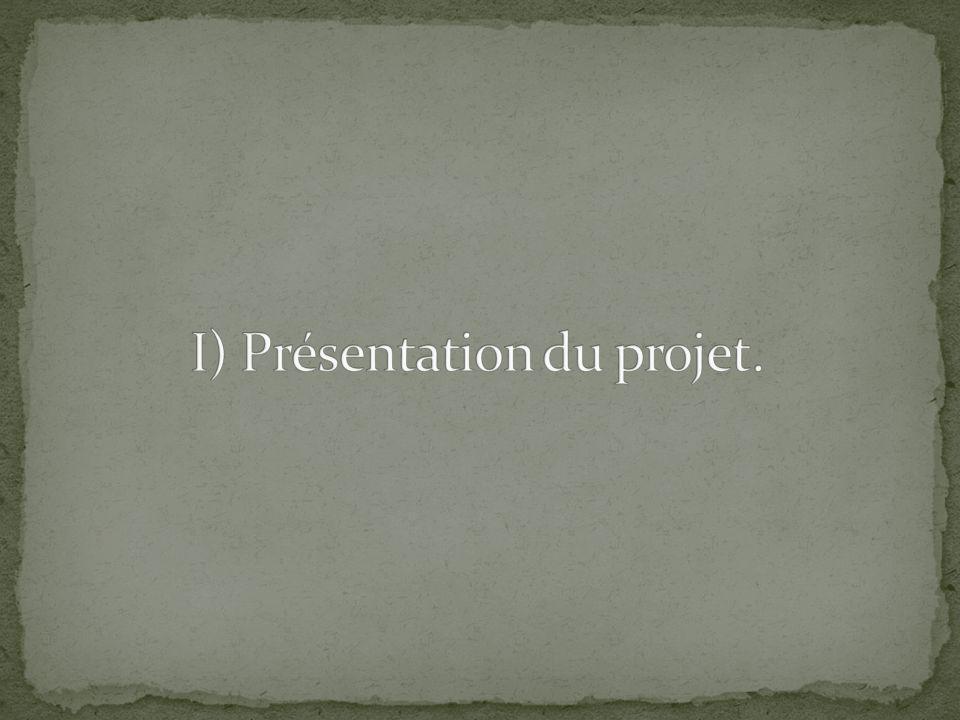 I) Présentation du projet.