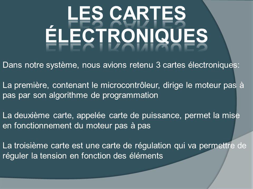 Les cartes électroniques