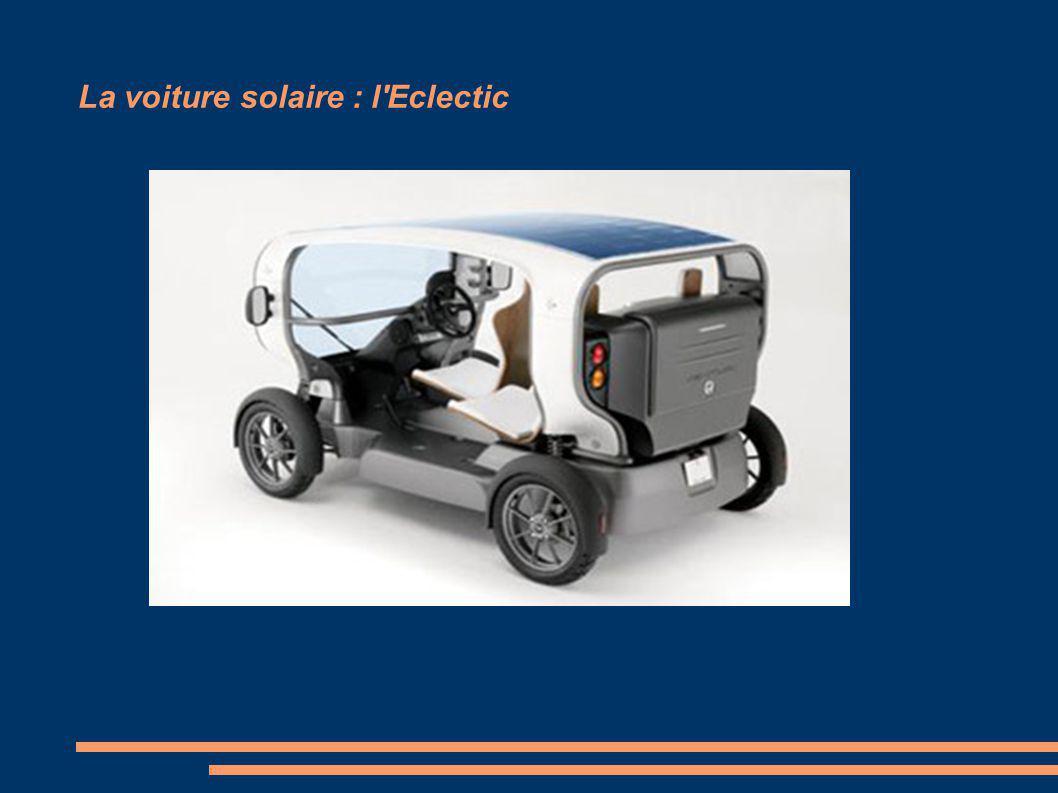 La voiture solaire : l Eclectic