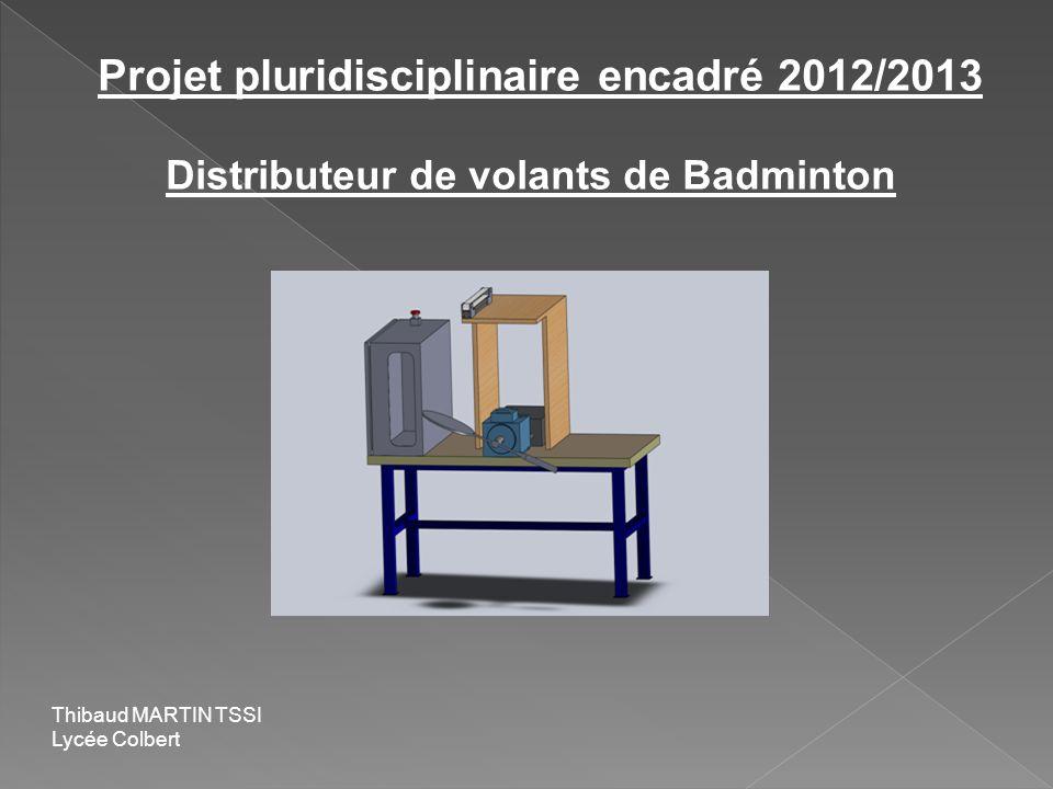 Projet pluridisciplinaire encadré 2012/2013