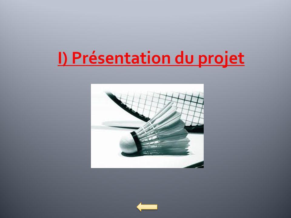 I) Présentation du projet