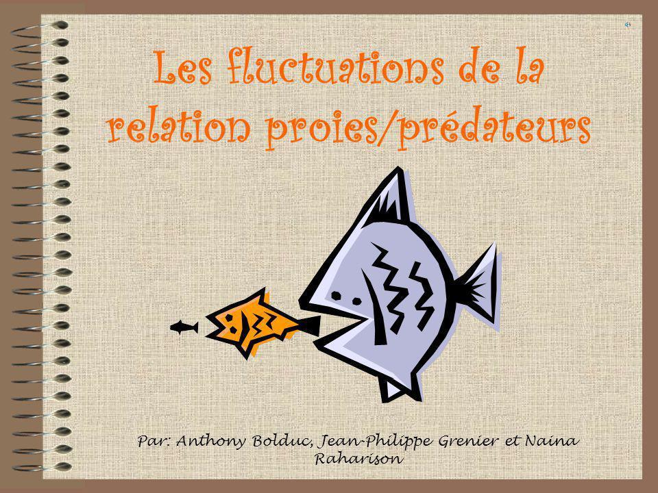 Les fluctuations de la relation proies/prédateurs