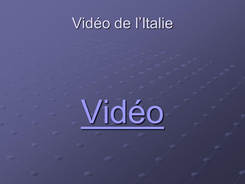 Vidéo de l'Italie Vidéo