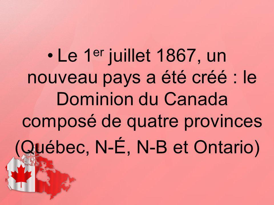(Québec, N-É, N-B et Ontario)