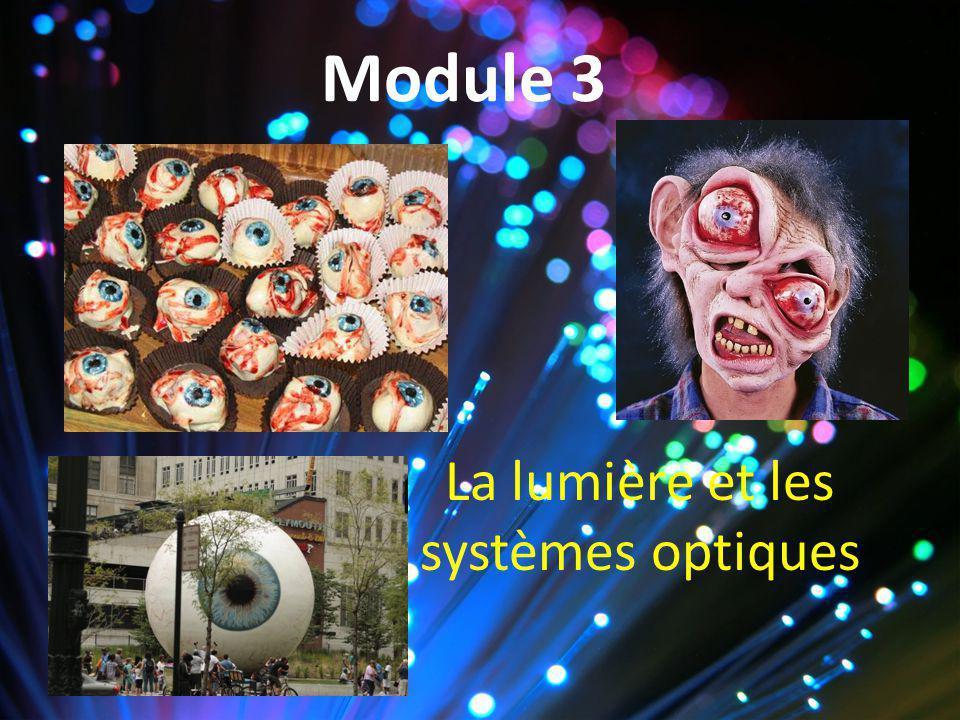 La lumière et les systèmes optiques