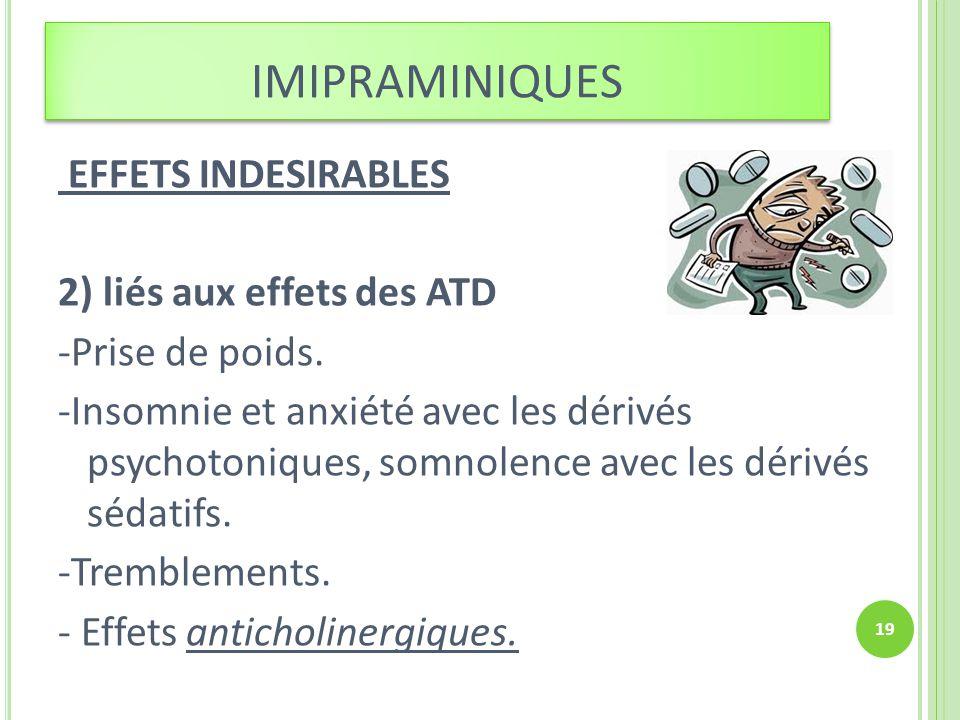 imipraminiques