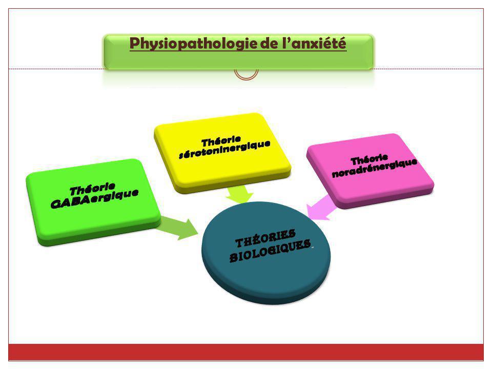 Physiopathologie de l'anxiété