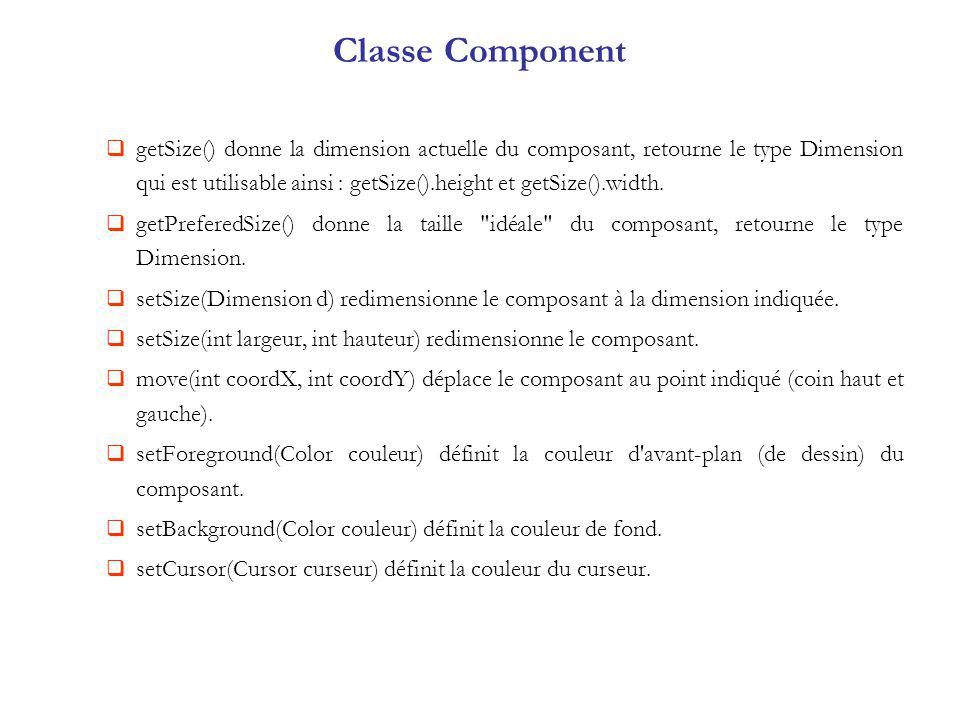 Classe Component