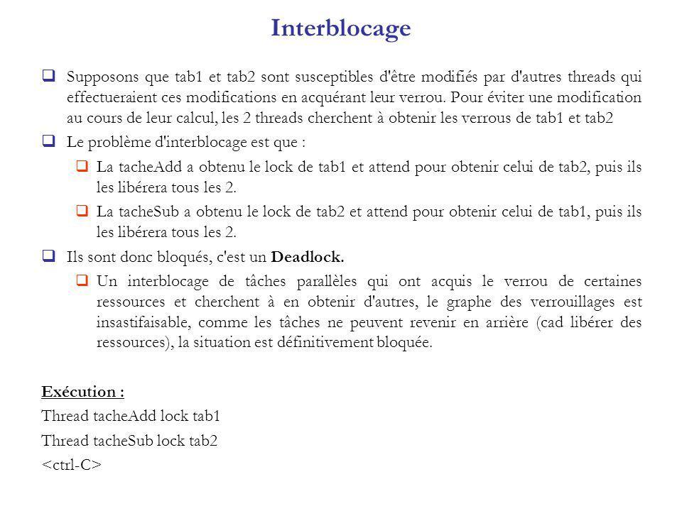 Interblocage