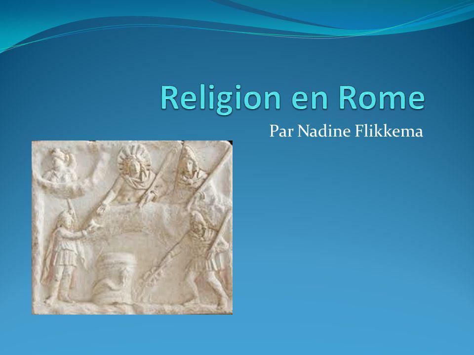 Religion en Rome Par Nadine Flikkema