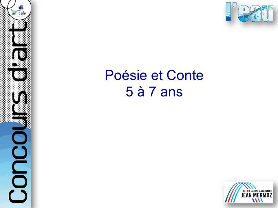 Poésie et Conte 5 à 7 ans