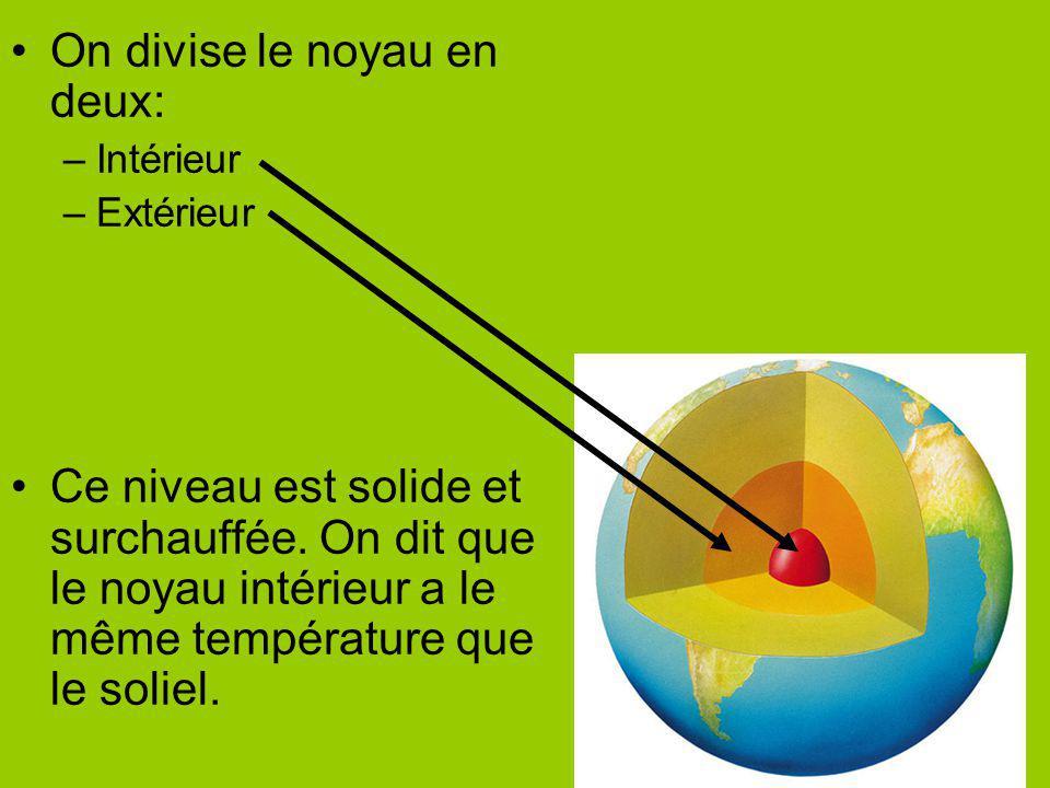 On divise le noyau en deux: