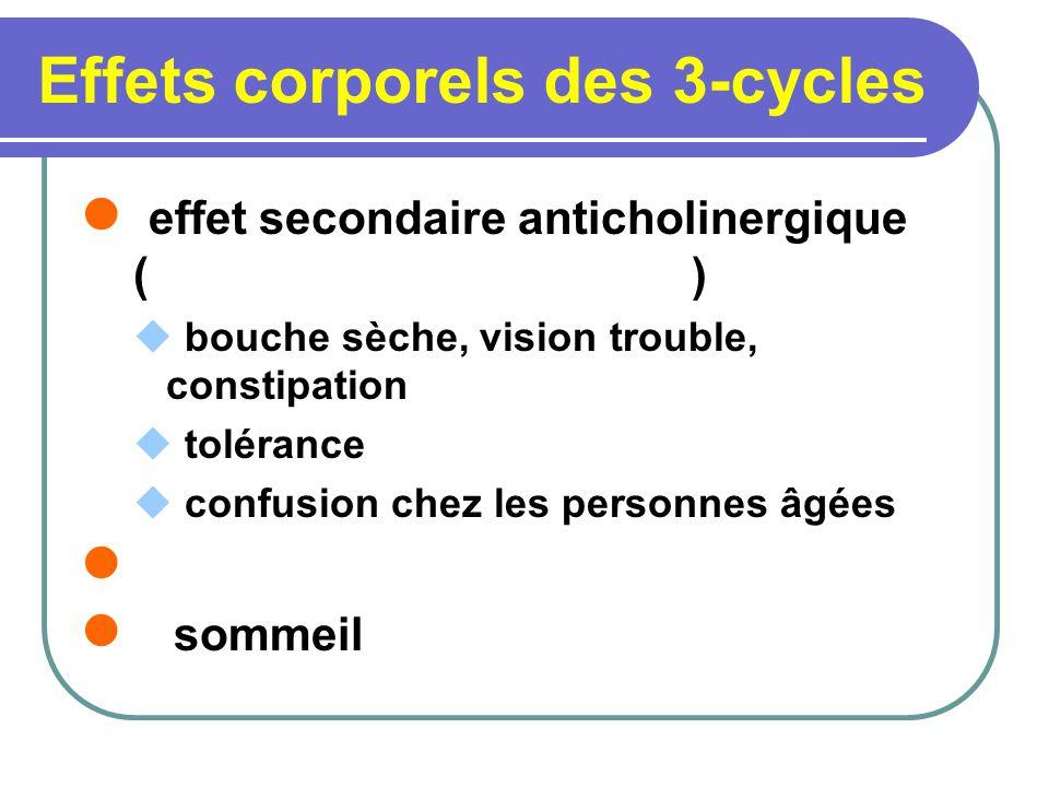 Effets corporels des 3-cycles
