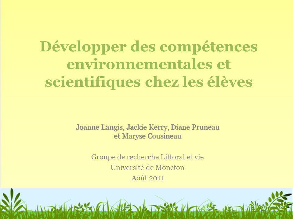 Développer des compétences environnementales et scientifiques chez les élèves