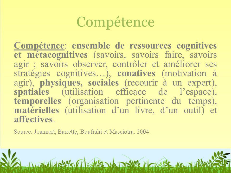 Compétence