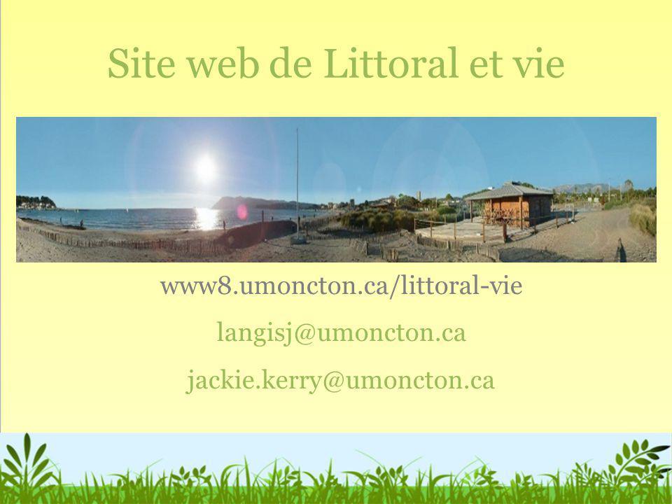 Site web de Littoral et vie