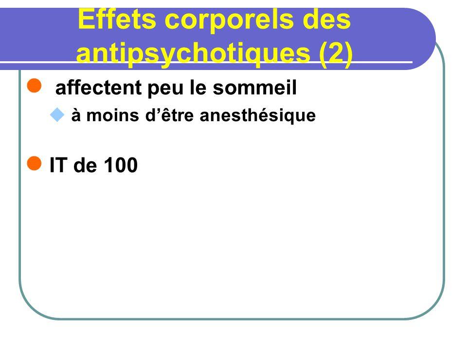 Effets corporels des antipsychotiques (2)