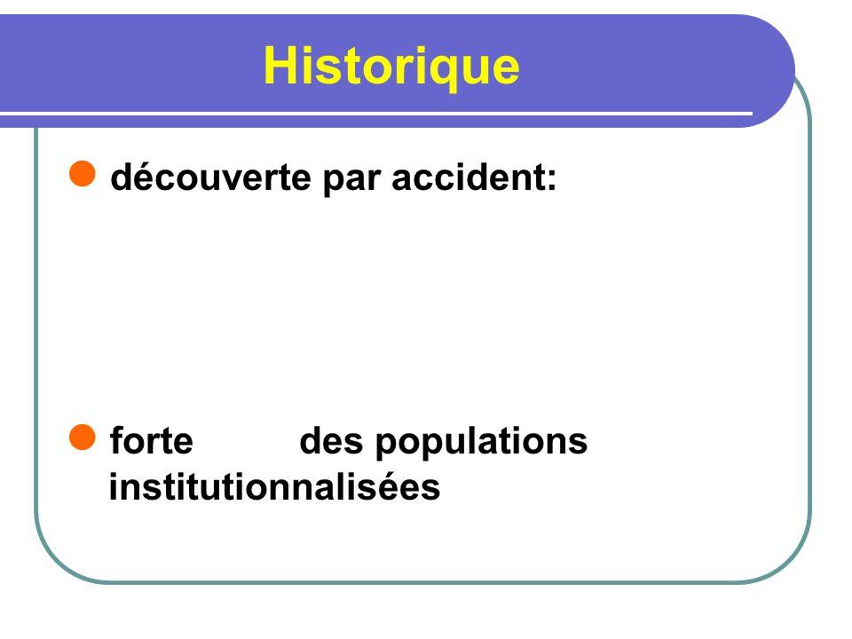 Historique découverte par accident: