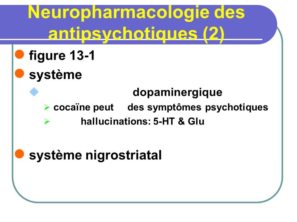 Neuropharmacologie des antipsychotiques (2)