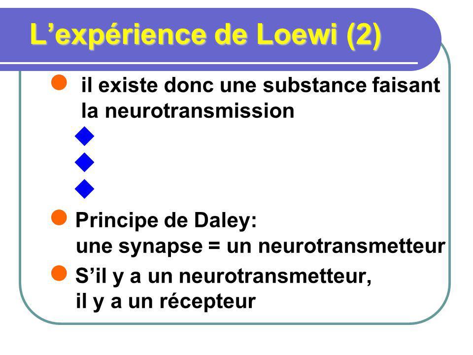 L'expérience de Loewi (2)