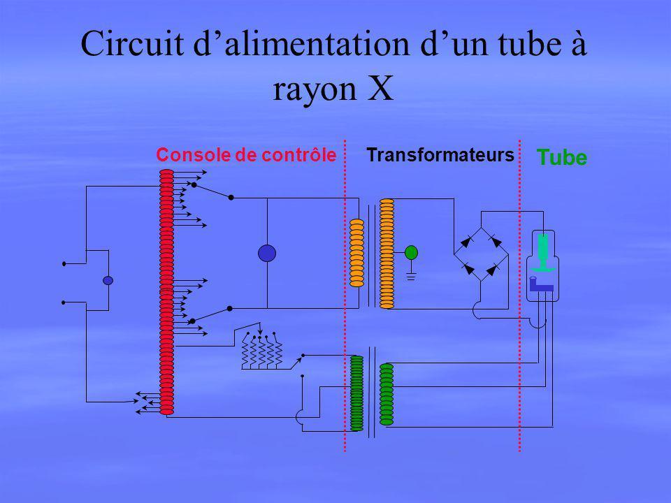 Circuit d'alimentation d'un tube à rayon X