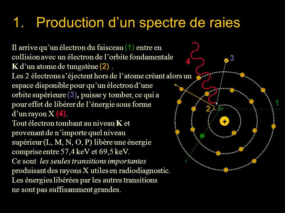 1. Production d'un spectre de raies