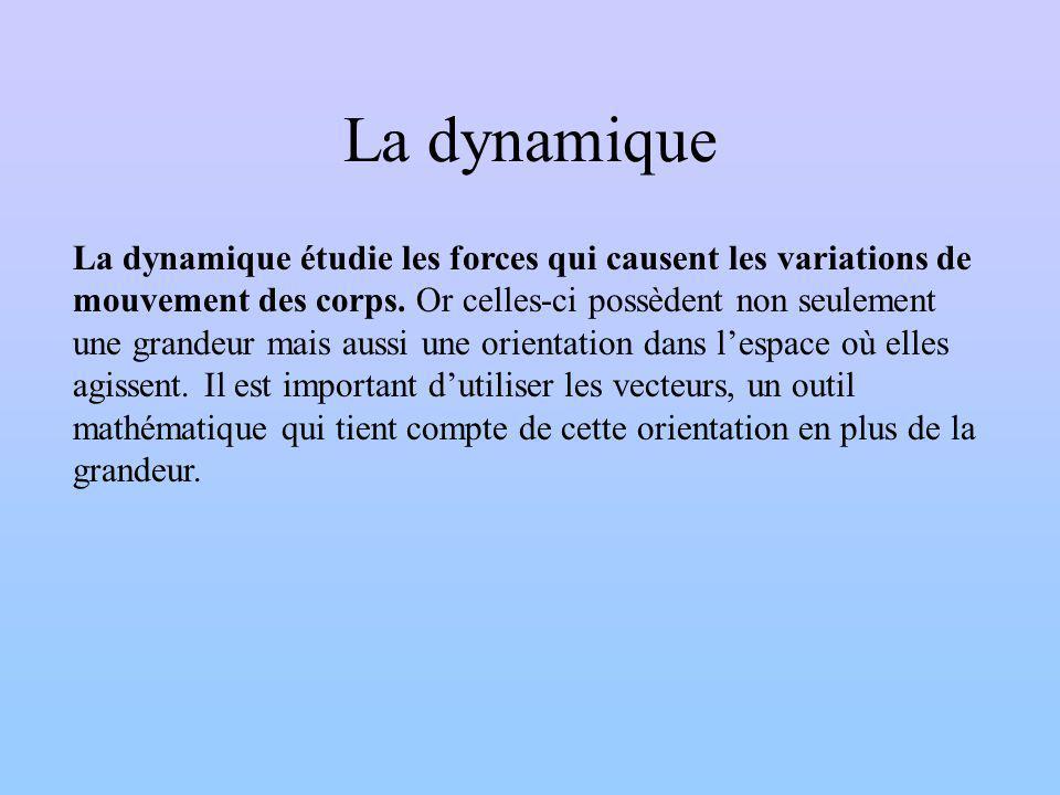 La dynamique