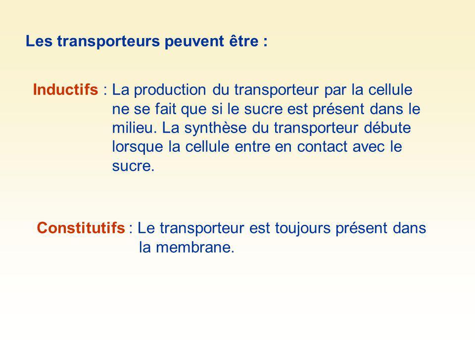 Les transporteurs peuvent être :