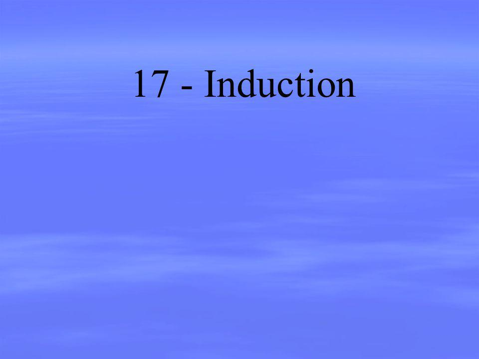 17 - Induction