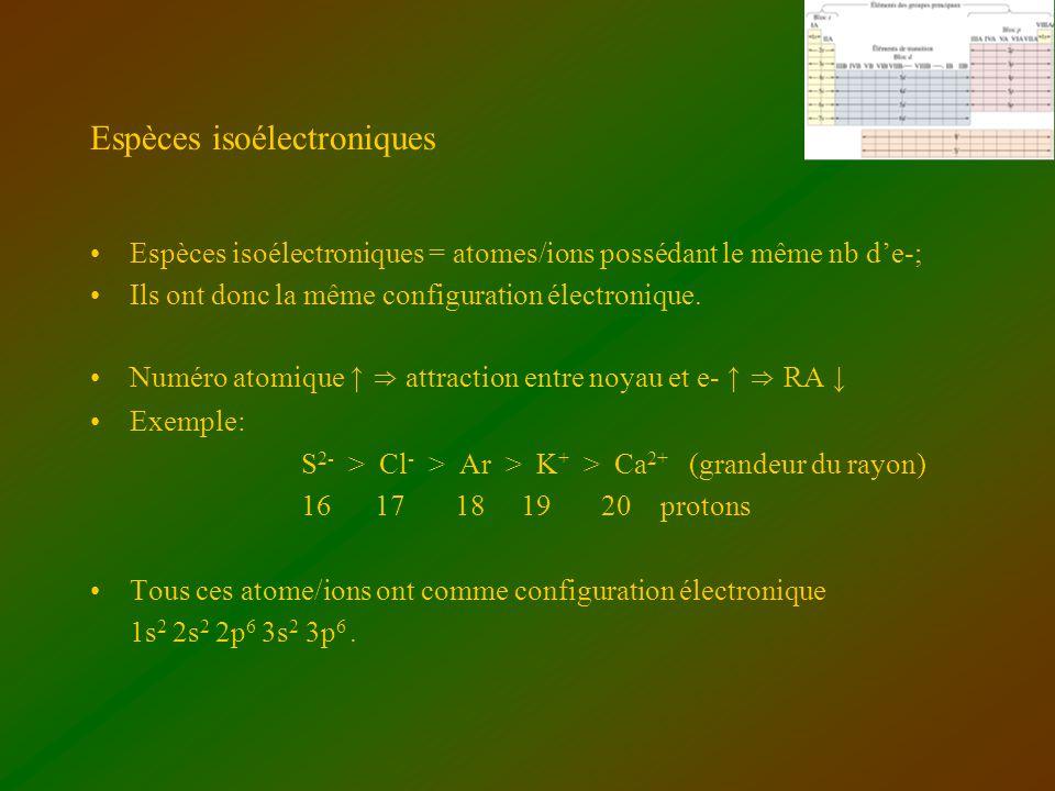 Espèces isoélectroniques
