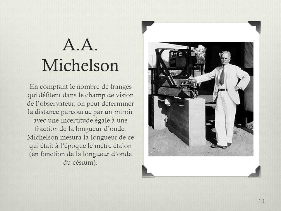 A.A. Michelson