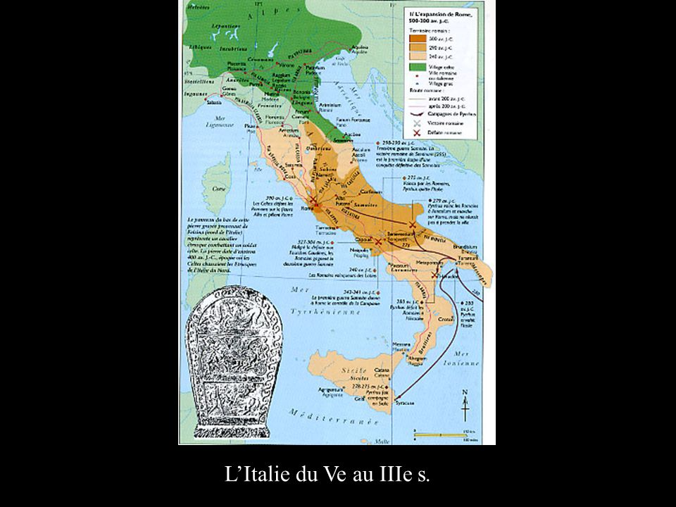 L'Italie du Ve au IIIe s.