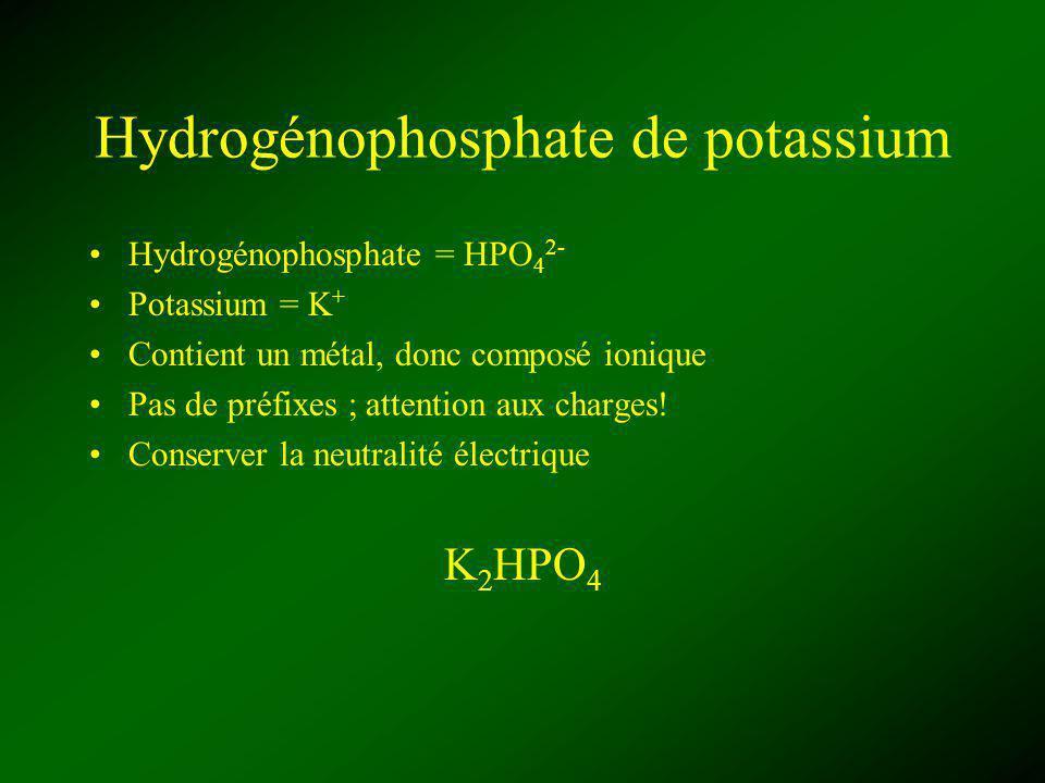 Hydrogénophosphate de potassium