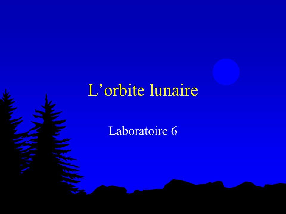 L'orbite lunaire Laboratoire 6