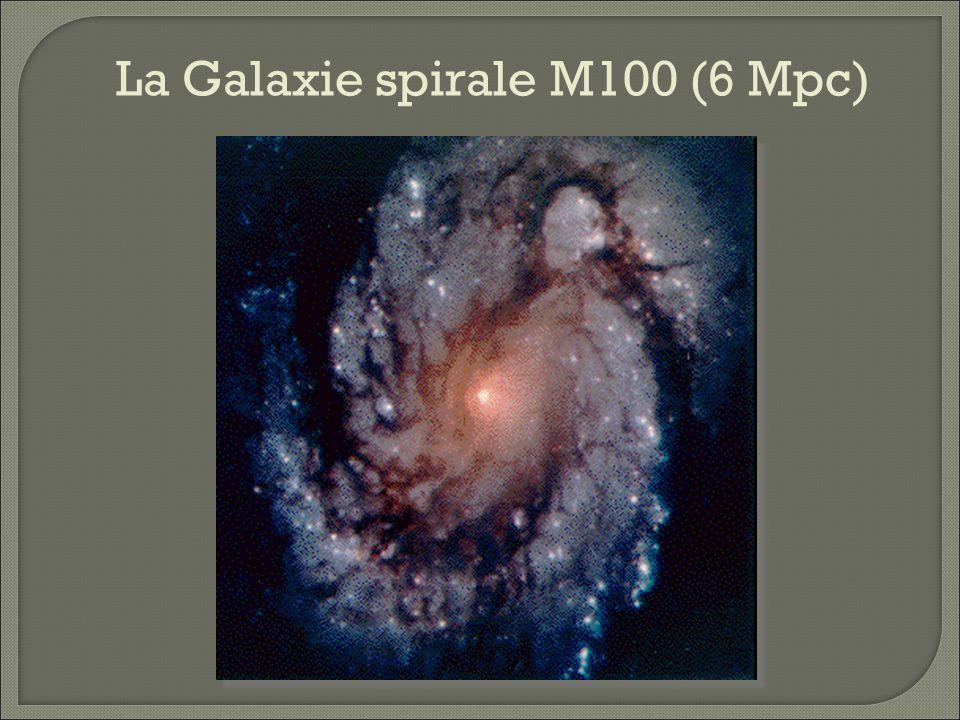 La Galaxie spirale M100 (6 Mpc)