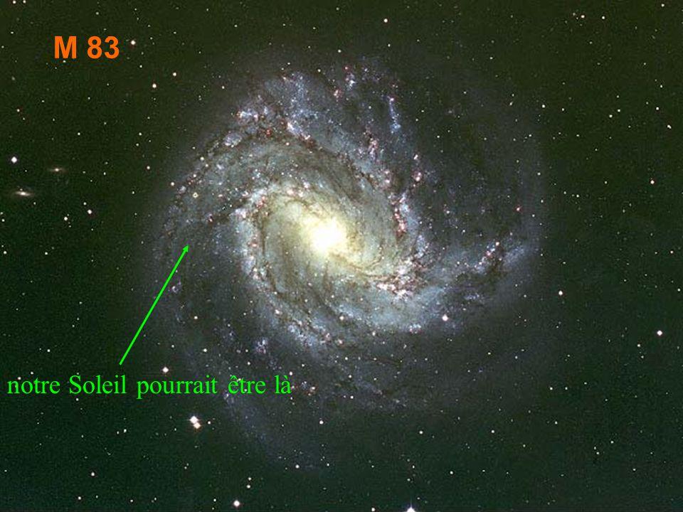 M83 M 83 notre Soleil pourrait être là