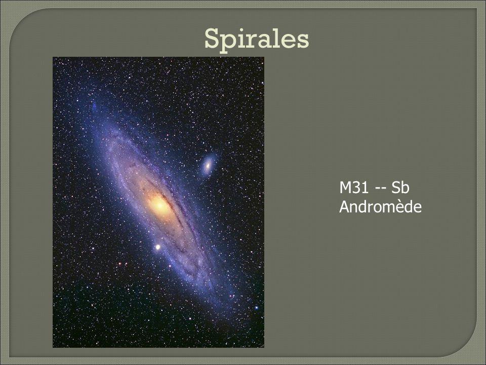 Spirales M31 -- Sb Andromède