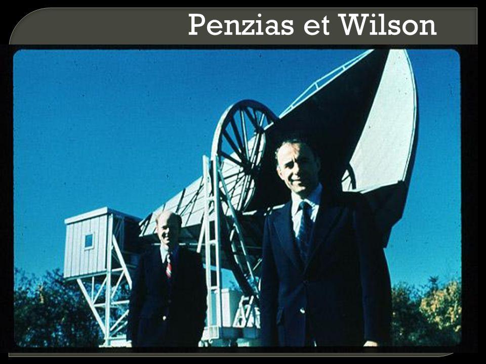 Penzias et Wilson