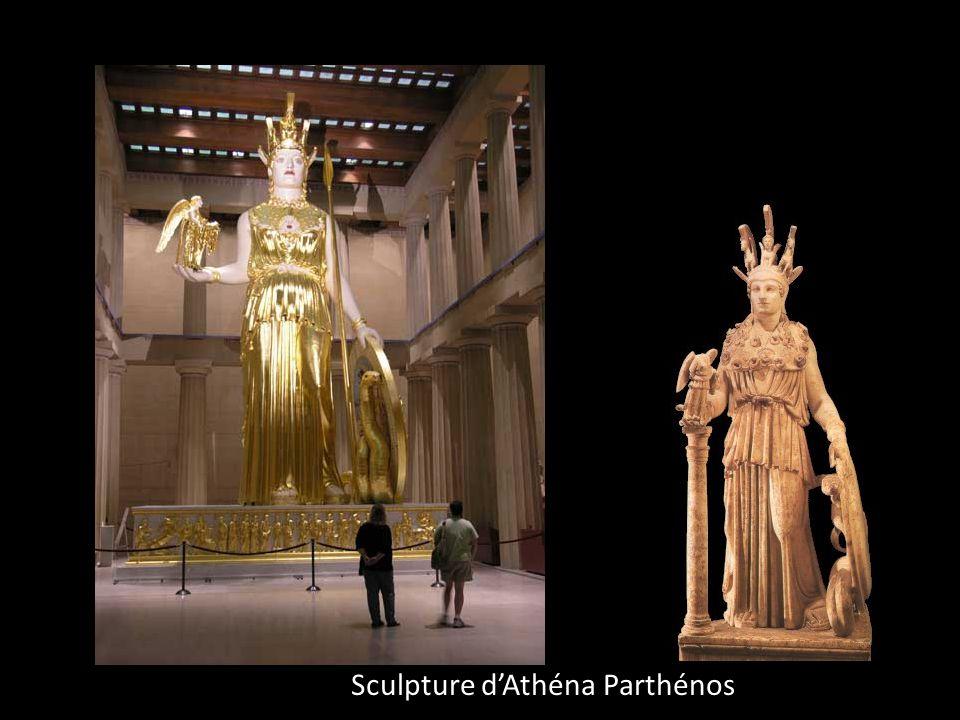 Sculpture d'Athéna Parthénos