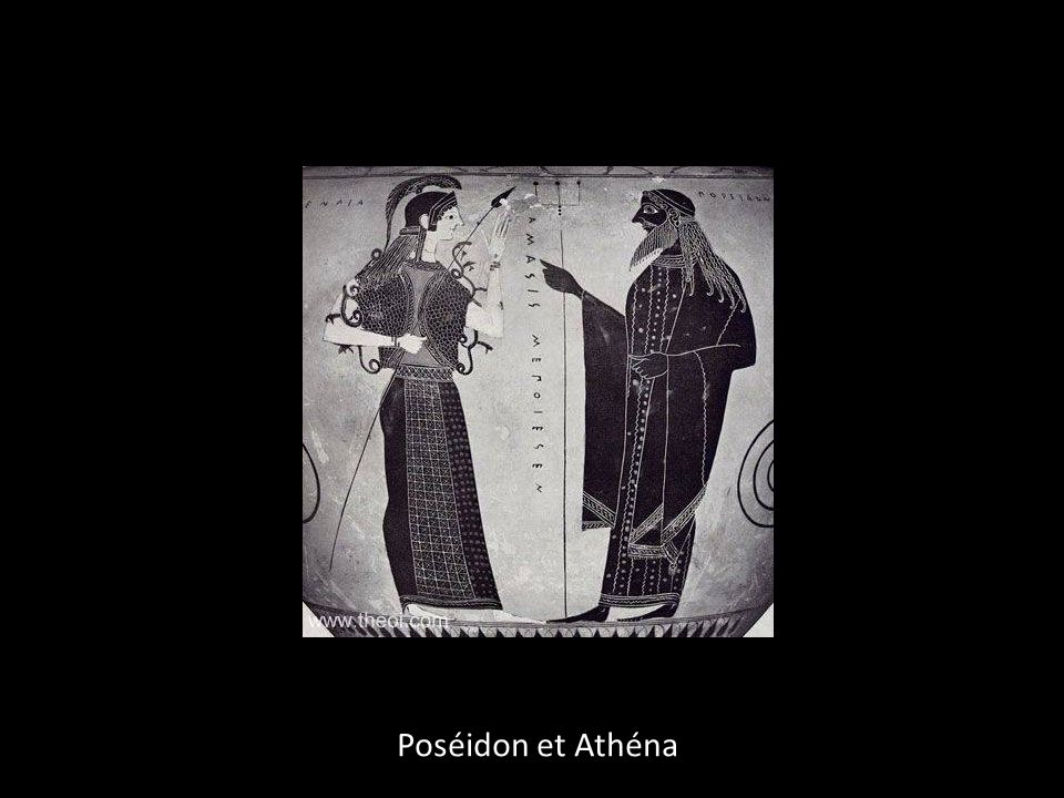 Poséidon et Athéna