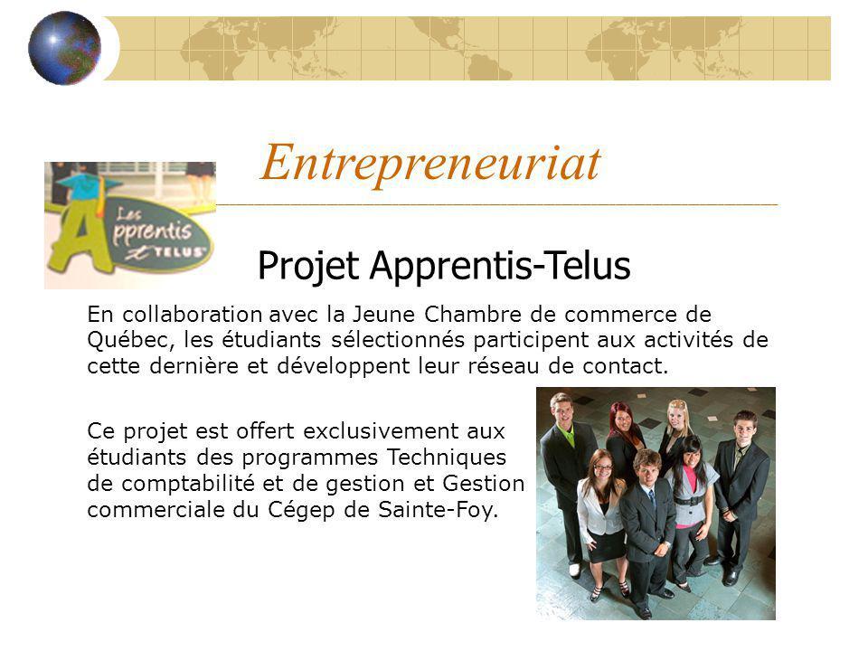 Projet Apprentis-Telus