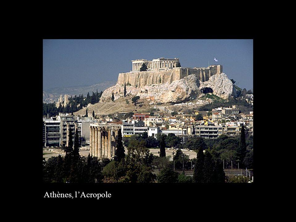 Athènes, l'Acropole