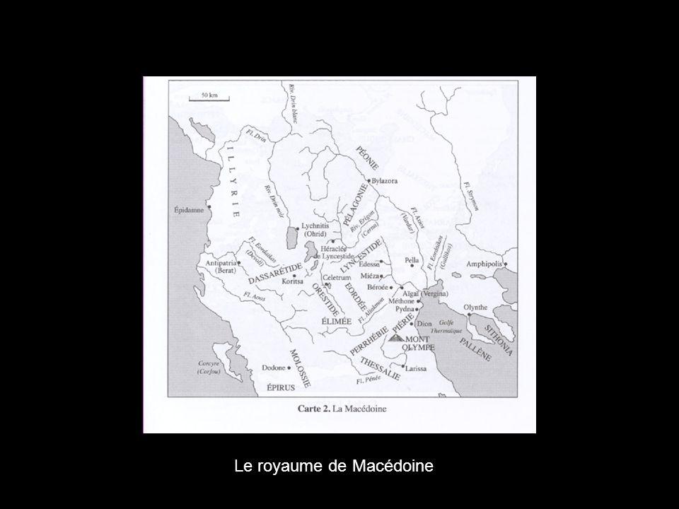 Le royaume de Macédoine