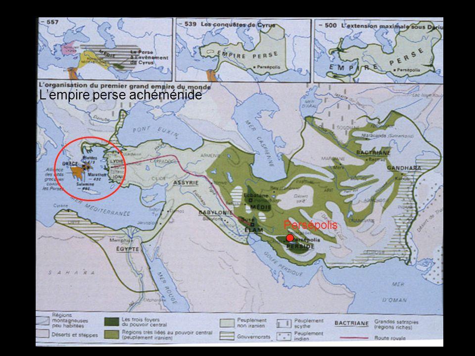 L'empire perse achéménide