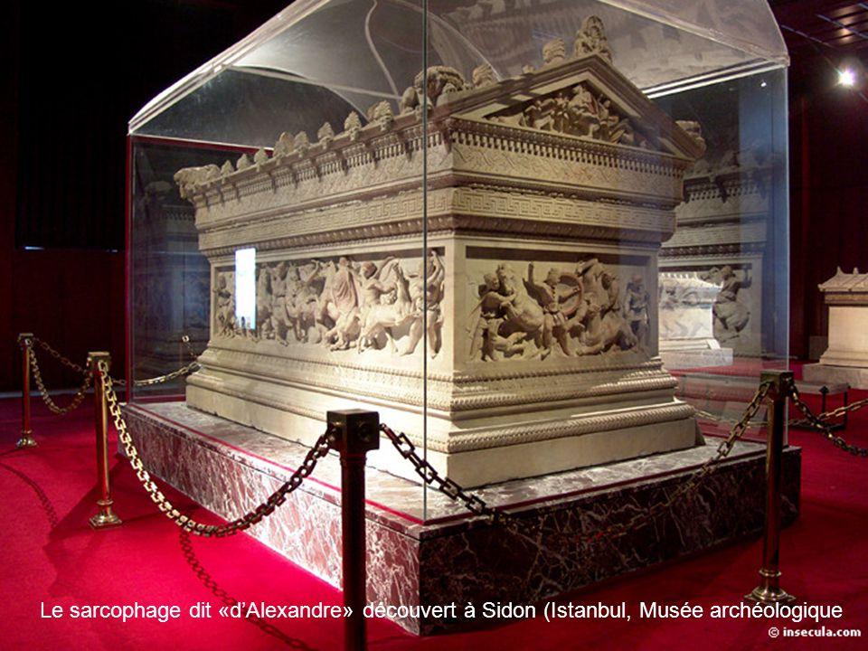 Le sarcophage dit «d'Alexandre» découvert à Sidon (Istanbul, Musée archéologique