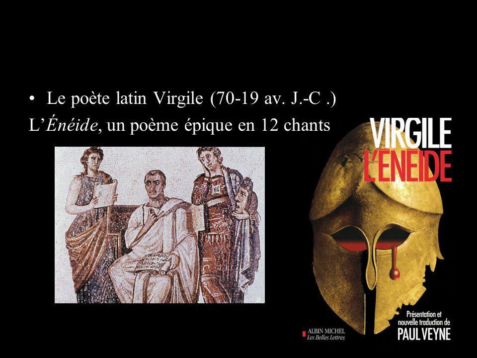 Le poète latin Virgile (70-19 av. J.-C .)